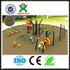 Outdoor playground plastic climbing wall frame / kids fitness equipment / backyard fitness equipment for children (QX-044A)