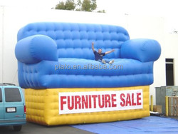 Giant inflatable sofa / outdoor inflatable sofa for advertising