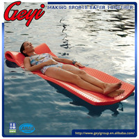 Swimming Pool Floats Vinyl Coated Dipping Swimming Recreation Floating Mat Pool Water Lounger Floating Mat