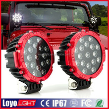 4x4 off road 9-30V 12V 51W offroad LED truck WORK LIGHT spot beam Truck Off Road Auto LED Work Lights for jeep Car
