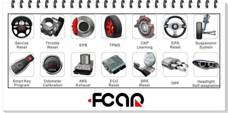 12v carros, 24v caminhão, IVECO, DEPHI, MERCEDES BENZ, VW, BOSCH, CAT, DENSO, UD, CUMMINS, FCAR F3-G scanner de diagnóstico auto