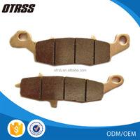 Chinese OEM roketa atv parts and shineray atv parts of sintered brake pads supplier