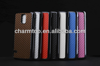 Carbon Fiber Leather Hard Case For Samsung Galaxy S5 i9600