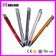 Hotel restaurant supply high-quality metal twist ball pen metal ballpoint pen for business gifts