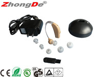 Fast delivery listening device rechargeable hearing aid BTE