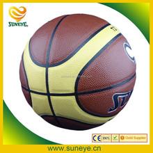 Hot Sale Shiny Cheap Leather Basketball