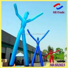 NB-SD2023 NingBang two legs inflatable sky dancer, inflatable air dancer, inflatable tube man