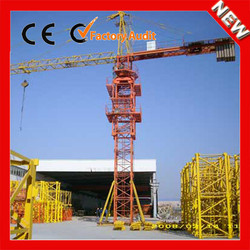XINYU new design mini types of QTZ125 used travelling tower crane for sale in dubai