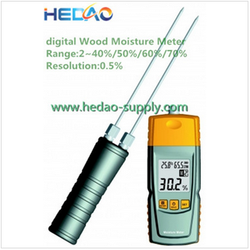 Wood humidity meter top selling moisture content testing equipment