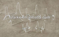 elegant acrylic diplay easels holder