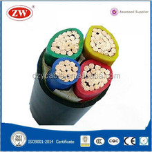 China supplier American standard 3+1core electrical power cable
