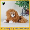 Realistic animal handicrafts animatronic lion for sale