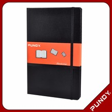 wholesale a5 hardcover pu leather cover notebook / journal