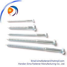 Carbon steel OEM lag bolt price in China