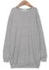 korean ladies long sleeve cheap tshirt with pocket