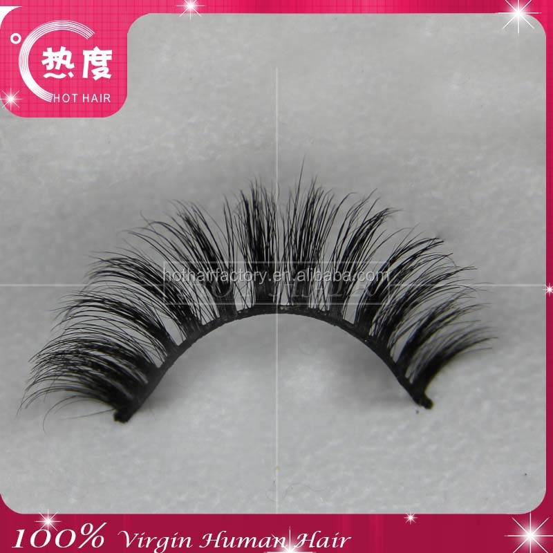 Human Hair False Eyelashes Wholesale 116
