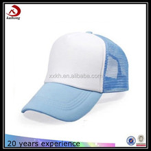 front is foam back is mesh breathable big cap type mesh baseball trucker cap