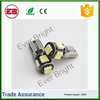 CE ,ROSH 90LM 5050 5 Smd Error Free t10 5w5 canbus car led auto bulb,canbus error
