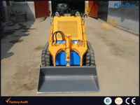 Small wheeled /tracked/crawler mini skid steer loader