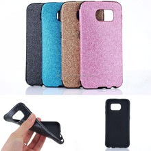 New cheap mobile phone cases bulk phone cases glitter case for samsung galaxy S6