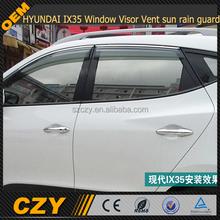 For HYUNDAI IX35 Window Visor Vent sun rain guard 10-14
