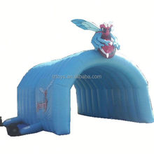 hat inflatable tent , LZ-E330 inflatable tent for basketball