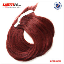 New arrival 100% Russian Virgin remy hair mini flower tape hair extensions