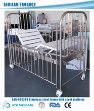 AYR-6552RS Adjustable Pediatric Stainless Steel Hospital Bed