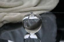 noble de la moda artesanía hecha a mano de cristal claro de apple