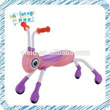 Abs ant animal bebé scooter ensamble toy juego para los niños