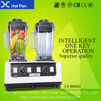 heavy duty 3 peak commercial blender china manufacture Electrical Fruit Food Juice Ice Commercial Milk Shake Professional Blende