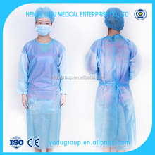 Customized design medical patient hospital gowns