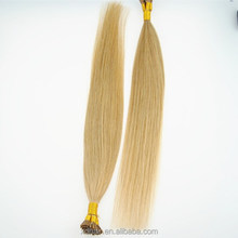 best type human hair extension remy I-tip keratin human hair extension 100 keratin tip human hair extension