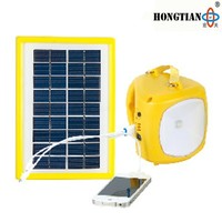 rechargeable portable one high bright led solar lantern