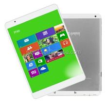 7.9 Inch 2048*1536 pixels Winds 8.1 Intel Atom Z3736F Quad core 2GB RAM 32GB ROM 5.0MP Teclast X89 Tablet PC