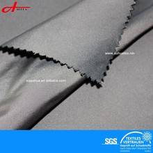 Polyester yarn dye twill memory fabric