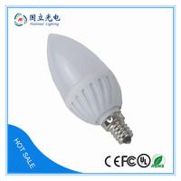 E14 LED Bulb 3W Thermal plastic housing bulb C7 led candle light 3W