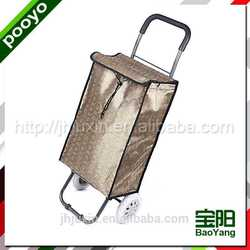 luggage cart trolley wall display in cabinet