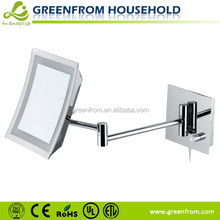 Square fancy fashionable acrylic battery operated mirror
