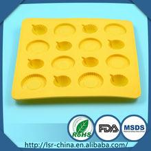 moldes de silicona venta caliente decoración de pasteles, molde de silicona pastel pequeño volcán