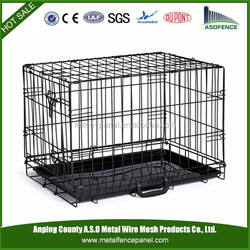 Metal Pet Playpen Cage with ABS Tray