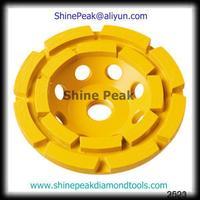 Good Condition zirconium oxide porcelain diamond edging cup wheel From Shine Peak