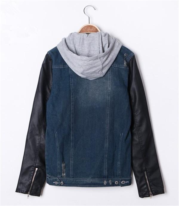 Nuevo 2014 los chicos de moda chaqueta de jean azul para for Lo ultimo en moda para hombres