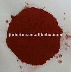 Pigment for colored asphalt / iron oxide red pigment