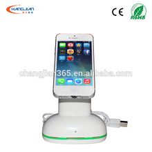 acrylic telephone desk stand cell phone display stand