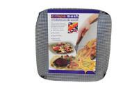 Reusable Non-stick Oven Mesh Crisp Basket Square - Freezer, Microwave, and Dishwasher Safe