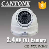 2.0MP 1080P TVI Camera HD Analog High Definition dome Camera with 24pcs IR LEDs 20m IR Distance