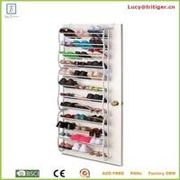 36 pair over the door hanging wall mounted shoe rack