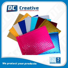 custom colorful poly bubble mailer bag for postal packaging