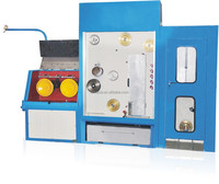 Inlet 0.8-1.2 Outlet 0.08-0.32 Aluminium Fine Wire Drawing Machine With Online Annealer